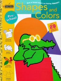 Book cover for Shapes and Colors (Preschool)