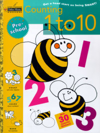 Book cover for Counting 1 to 10 (Preschool)