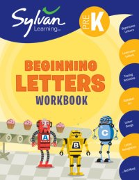 Book cover for Pre-K Beginning Letters Workbook