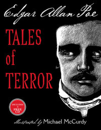Book cover for Tales of Terror from Edgar Allan Poe
