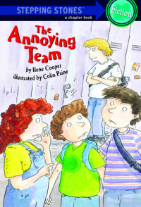 Book cover for The Annoying Team