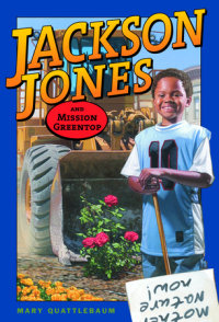 Book cover for Jackson Jones and Mission Greentop