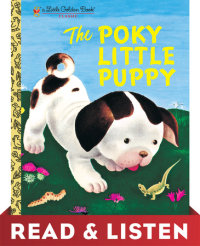 Book cover for The Poky Little Puppy: Read & Listen Edition