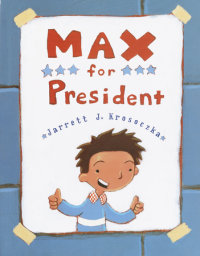 Cover of Max for President cover