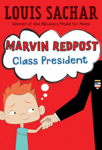 Cover of Marvin Redpost #5: Class President cover