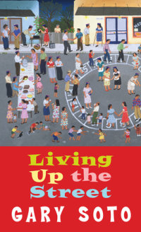Cover of Living Up The Street cover