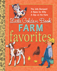 Book cover for Little Golden Book Farm Favorites