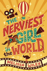 Book cover for The Nerviest Girl in the World