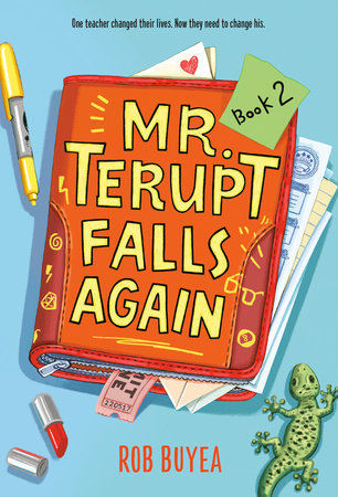 Cover image for Mr. Terupt Falls Again