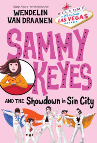 Book cover for Sammy Keyes and the Showdown in Sin City