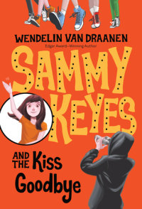 Book cover for Sammy Keyes and the Kiss Goodbye