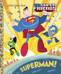 Book cover for Superman! (DC Super Friends)