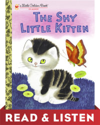 Cover of The Shy Little Kitten cover