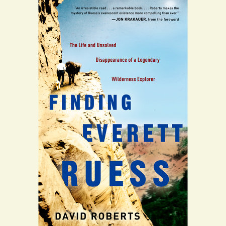 Finding Everett Ruess book cover