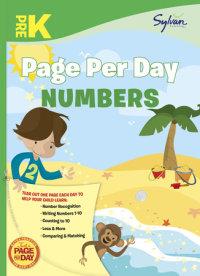 Book cover for Pre-K Page Per Day: Numbers