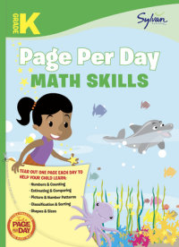 Book cover for Kindergarten Page Per Day: Math Skills