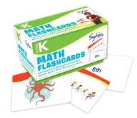 Book cover for Kindergarten Math Flashcards
