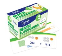 Book cover for 2nd Grade Math Flashcards