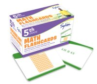 Book cover for 5th Grade Math Flashcards