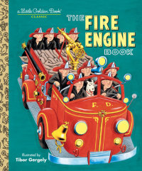 Book cover for The Fire Engine Book