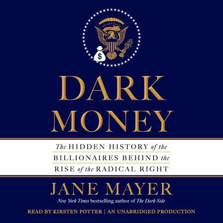 Dark Money book cover