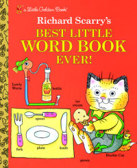 Cover of Richard Scarry\'s Best Little Word Book Ever cover