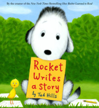 Cover of Rocket Writes a Story cover
