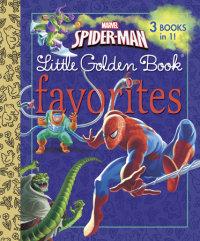 Book cover for Marvel Spider-Man Little Golden Book Favorites (Marvel: Spider-Man)