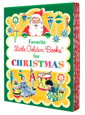 Favorite Little Golden Books for Christmas 5-Book Boxed Set