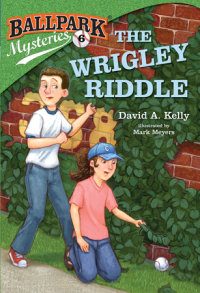 Book cover for Ballpark Mysteries #6: The Wrigley Riddle