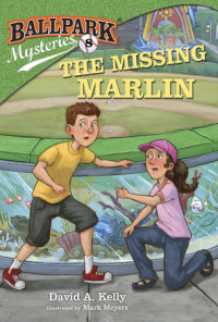 Book cover for Ballpark Mysteries #8: The Missing Marlin