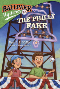 Book cover for Ballpark Mysteries #9: The Philly Fake