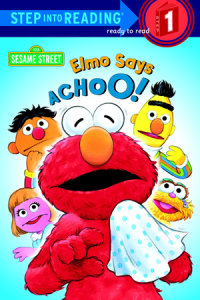 Book cover for Elmo Says Achoo! (Sesame Street)