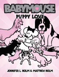 Cover of Babymouse #8: Puppy Love cover