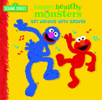 Book cover for Get Moving with Grover (Sesame Street)