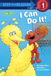 Book cover for I Can Do It! (Sesame Street)