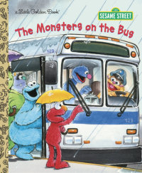 Book cover for The Monsters on the Bus (Sesame Street)