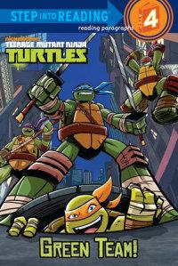 Book cover for Green Team! (Teenage Mutant Ninja Turtles)
