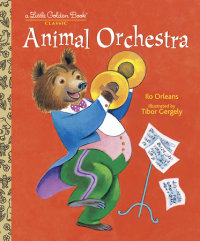 Book cover for Animal Orchestra