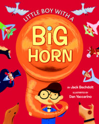 Book cover for Little Boy with a Big Horn