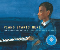 Cover of Piano Starts Here cover