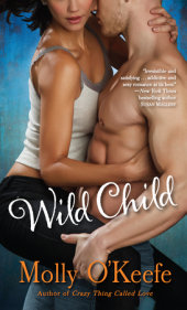 On sale today – Wild Child by Molly O'Keefe (I just adore the title)