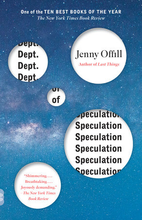Cover image for Dept. of Speculation