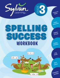 Book cover for 3rd Grade Spelling Success Workbook