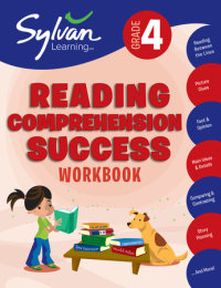 Book cover for 4th Grade Reading Comprehension Success Workbook