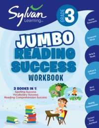 Book cover for 3rd Grade Jumbo Reading Success Workbook