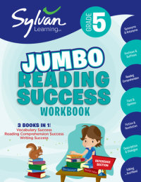 Book cover for 5th Grade Jumbo Reading Success Workbook
