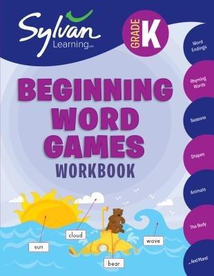 Kindergarten Beginning Word Games Workbook