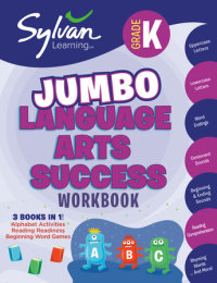 Book cover for Kindergarten Jumbo Language Arts Success Workbook
