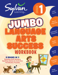 Book cover for 1st Grade Jumbo Language Arts Success Workbook
